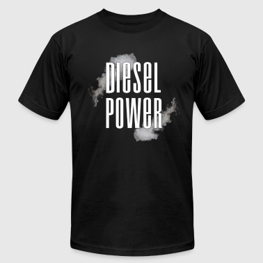 Rolling Coal Diesel Power Smoke Roll Coal Roll Coal Trucker 4X4 - Men's Fine Jersey T-Shirt