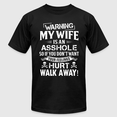 Warning My Wife warning my wife t shirts - Men's Fine Jersey T-Shirt