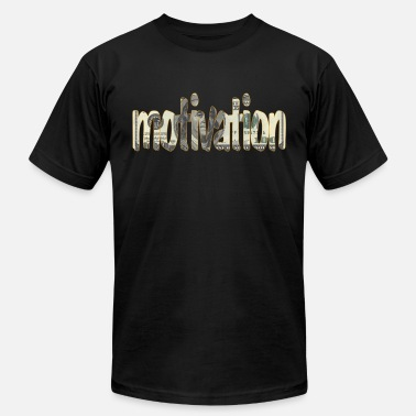 Money Is The Motive Money is Motivation - Men's Fine Jersey T-Shirt