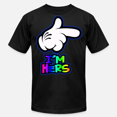 Mickey i'm hers - Men's Jersey T-Shirt