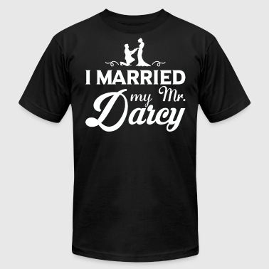 Mommy Will You Marry Daddy I Married My Mr.Darcy T Shirt - Men's Fine Jersey T-Shirt