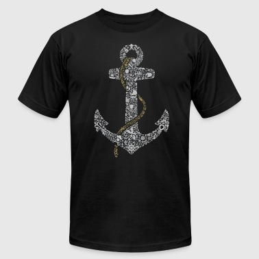 Anchor - Men's Fine Jersey T-Shirt