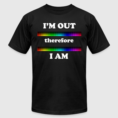 I'm Out Therefore I Am - Men's Fine Jersey T-Shirt