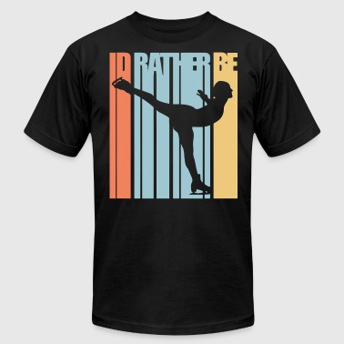 Id Rather Be Dancing Id Rather Be Ice Skating Figure Skater dance t Shi - Men's Fine Jersey T-Shirt
