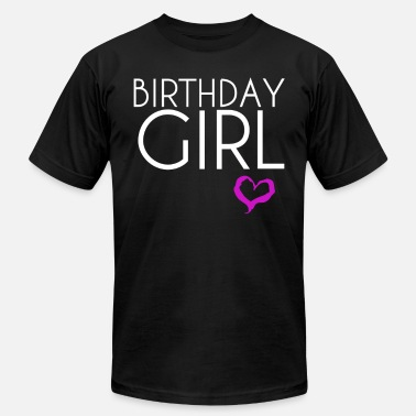 Day Of Birth birth day girl - Men's Fine Jersey T-Shirt
