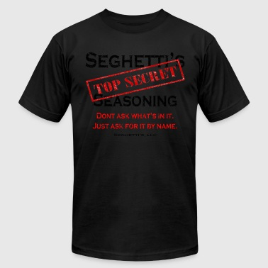 Seghetti's Top Secret Seasoning - Men's Fine Jersey T-Shirt
