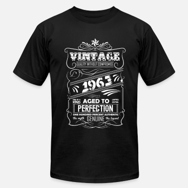 Vintage 1963 Aged To Perfection Vintage Aged To Perfection 1963 - Men's Fine Jersey T-Shirt