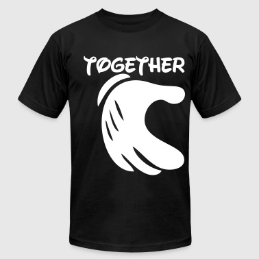 Live Love Asap together forever - Men's Fine Jersey T-Shirt