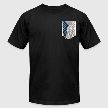 American Apparel Attack on Titan Shirt - Men's Fine Jersey T-Shirt