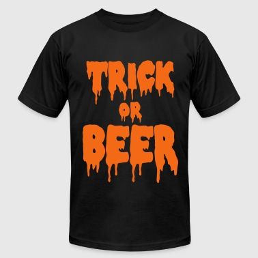 trick or beer - Men's Fine Jersey T-Shirt