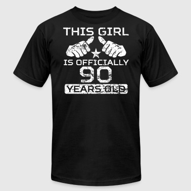 This Girl Is Officially 90 Years Old - Men's Fine Jersey T-Shirt