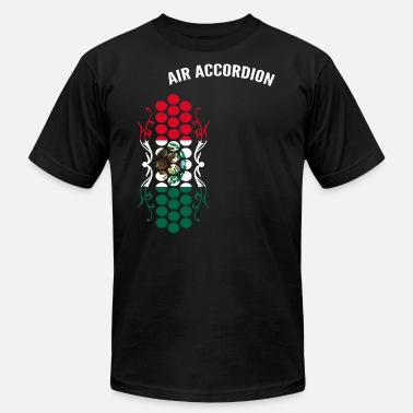 Accordion Air Accordion champions - Flag of Mexico - Men's Fine Jersey T-Shirt