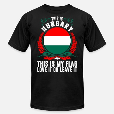 Funny Hungary This Is Hungary - Men's Fine Jersey T-Shirt