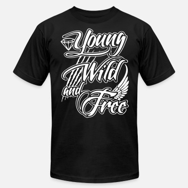 Young Wild And Free Young, Wild, and Free - stayflyclothing.com - Men's Fine Jersey T-Shirt