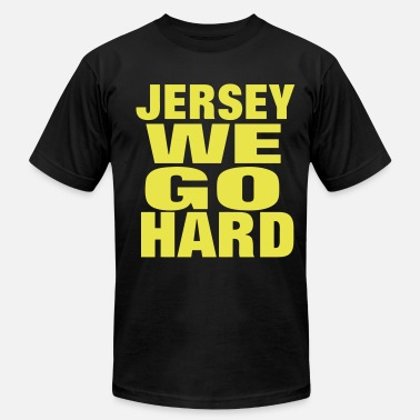 Jersey Swag JERSEY WE GO HARD - Men's  Jersey T-Shirt