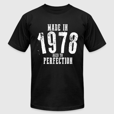 Made In 1978 Happy Birthday Shirt - Men's Fine Jersey T-Shirt