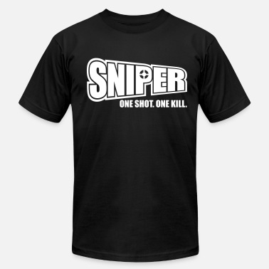 Xbox One X Sniper One Shot One Kill - Men's Jersey T-Shirt