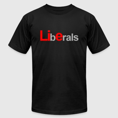 Liberals - Men's Fine Jersey T-Shirt