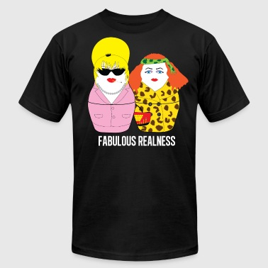 Fabulous Realness black - Men's Fine Jersey T-Shirt
