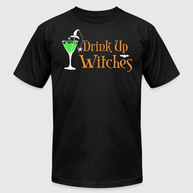 Drink Up Witches Halloween Halloween Drink Up Witches - Men's Fine Jersey T-Shirt
