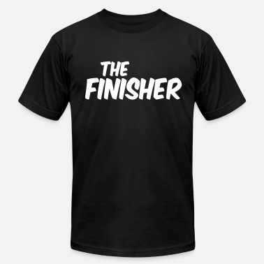 Finished THE FINISHER - Men's Fine Jersey T-Shirt