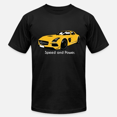 Mercedes SLS AMG - Men's  Jersey T-Shirt