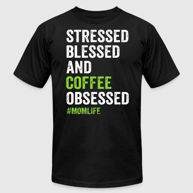 stressed blessed and brother t shirts - Men's Fine Jersey T-Shirt