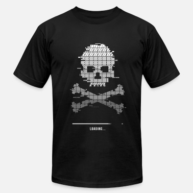 8bit Game Over Game over Loading Glitch 8bit - Men's  Jersey T-Shirt