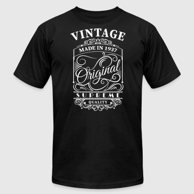 Made 1937 Vintage made in 1937 - Men's Fine Jersey T-Shirt