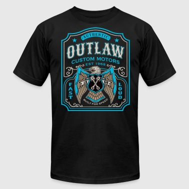 Outlaw Motors - Men's Fine Jersey T-Shirt