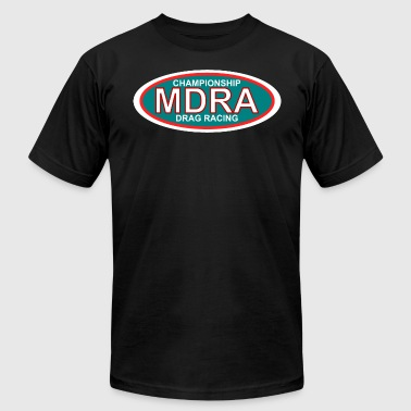 MDRA - The Official Shirt of the Mag Drag Racing A - Men's Fine Jersey T-Shirt