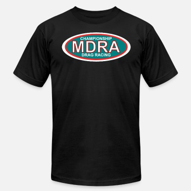 Drag Racing Tree MDRA - The Official Shirt of the Mag Drag Racing A - Men's Jersey T-Shirt