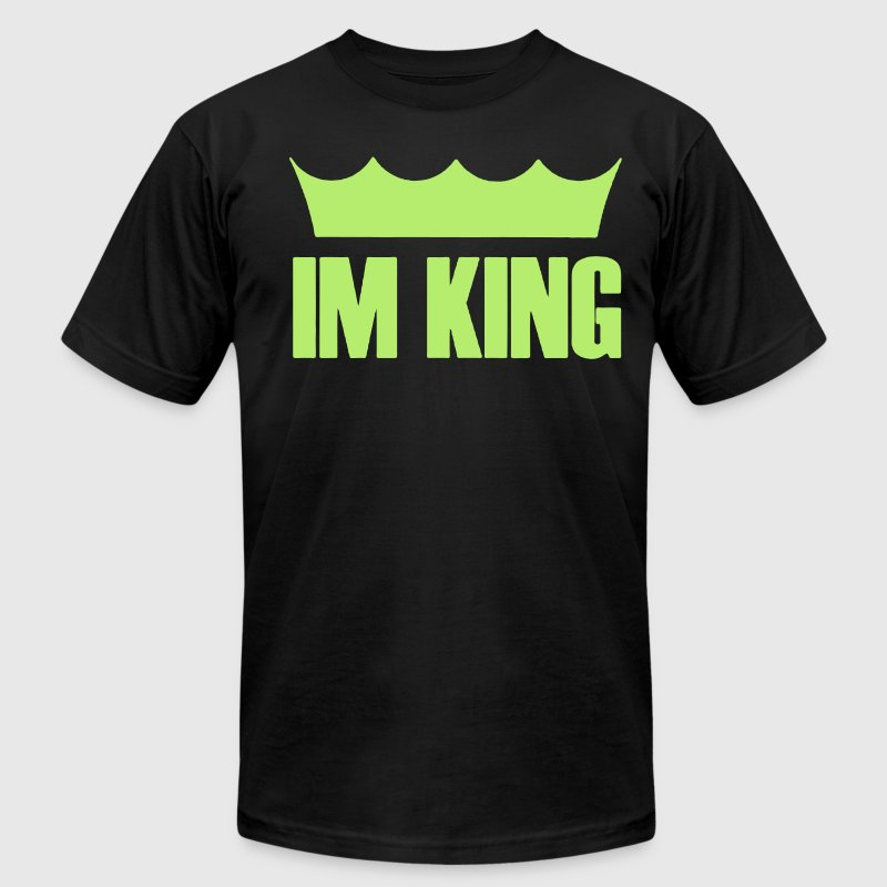 I'M KING - Men's Fine Jersey T-Shirt