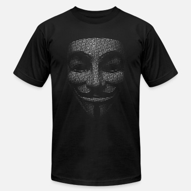 V For Vendetta V - Men's Fine Jersey T-Shirt
