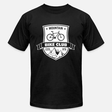 Bike Club Mountain Biking Club - Men's Fine Jersey T-Shirt