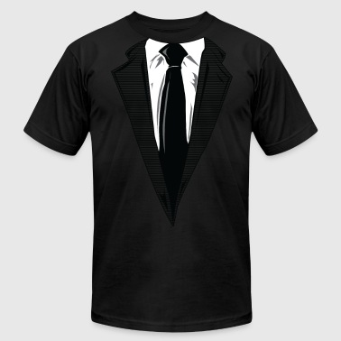 Suit Up Coat and Tie and Suit and Tie t-shirts - Men's Fine Jersey T-Shirt