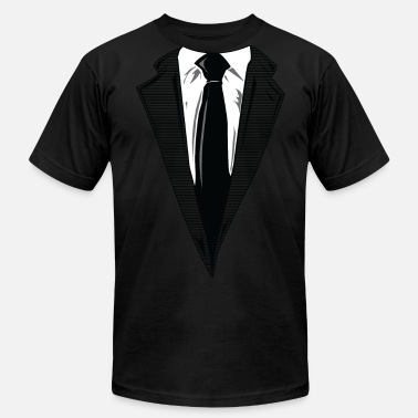 Suit Coat and Tie and Suit and Tie t-shirts - Men's  Jersey T-Shirt