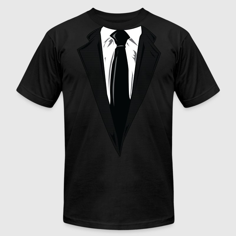 Coat and Tie and Suit and Tie t-shirts - Men's Fine Jersey T-Shirt