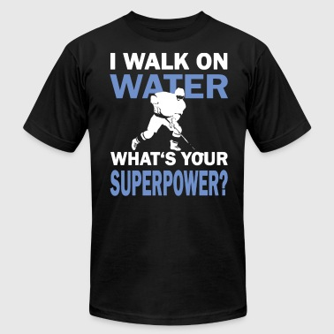Hockey Sayings Ice Hockey Superpower Funny Saying - Men's Fine Jersey T-Shirt