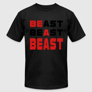 Work Out Beast - Men's Fine Jersey T-Shirt