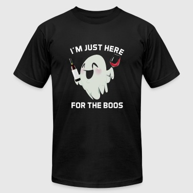I m Just Here For The Boos - Men's Fine Jersey T-Shirt