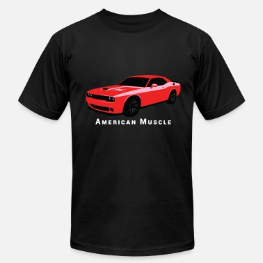 Dodge Challenger - Men's  Jersey T-Shirt