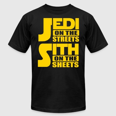 Jedi on the streets, sith on the sheets - Men's Fine Jersey T-Shirt
