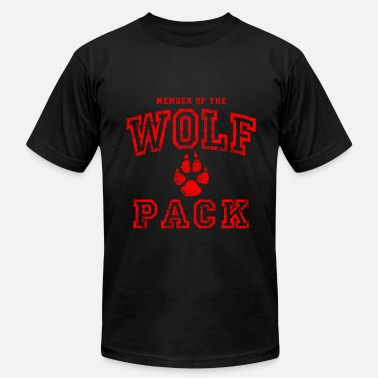 Wolfpack Wolf Pack Red - Men's Fine Jersey T-Shirt