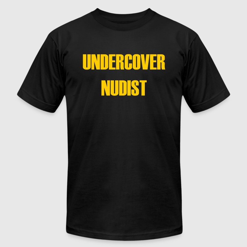 UNDERCOVER NUDIST - Men's Fine Jersey T-Shirt