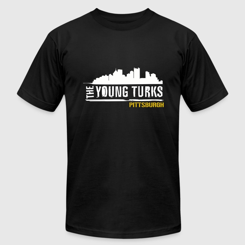 The Young Turks Pittsburgh Men's American Apparel  - Men's Fine Jersey T-Shirt