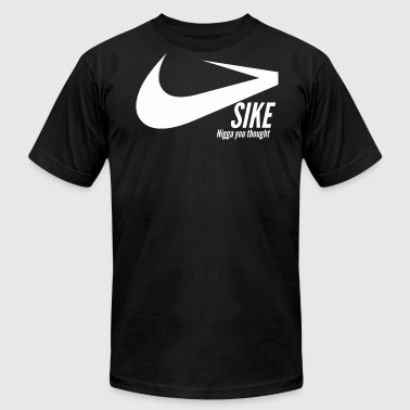 Sike. By P Cuck - Men's Fine Jersey T-Shirt