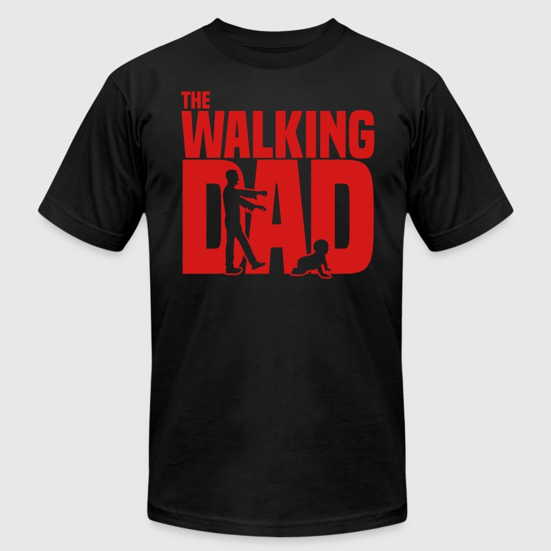 the walking dad - Men's Fine Jersey T-Shirt