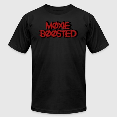 Boost Logo Moxie Boosted Logo - Men's Fine Jersey T-Shirt