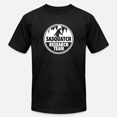 Sasquatch Slogan Sasquatch Research Team - Men's Fine Jersey T-Shirt